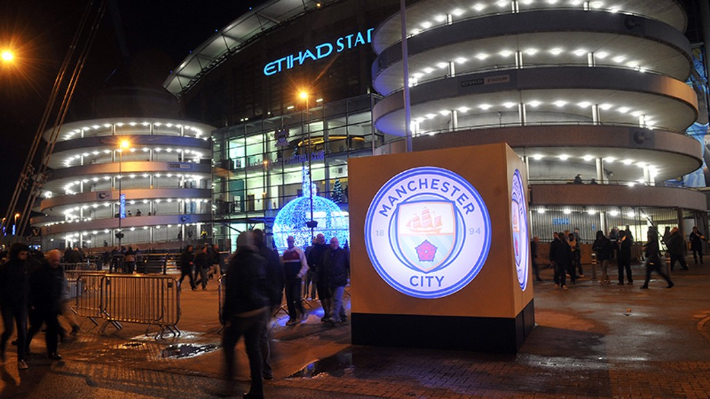 The new badge lit up