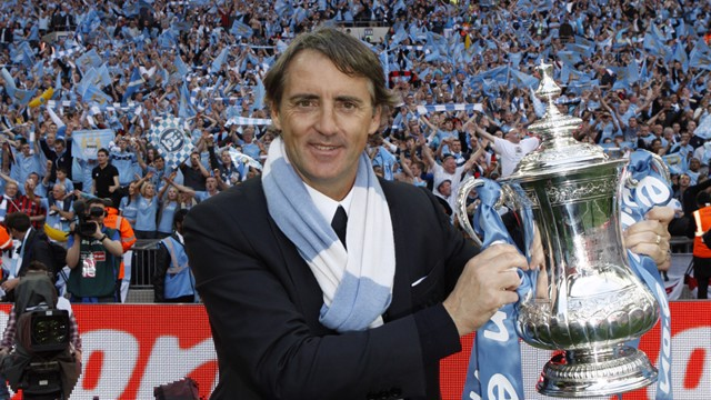 manager and cup