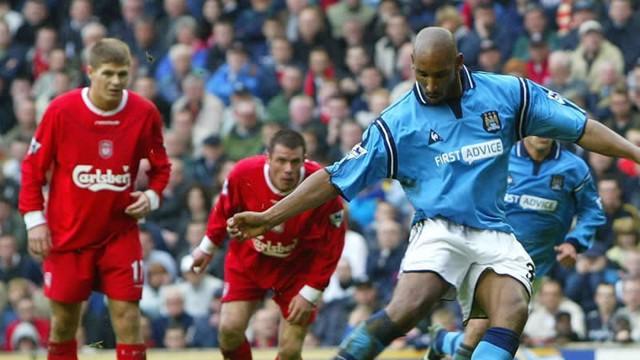 Nicolas Anelka penalty Anfield 2003