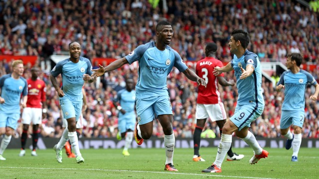 IT'S IN! Iheanacho celebrates