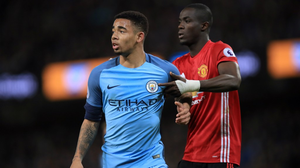 HE'S BACK: Gabriel Jesus made his return to action after his foot injury.