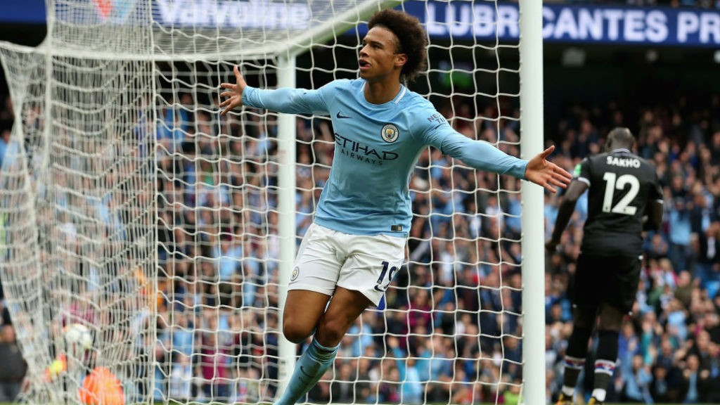 MAN OF THE MOMENT: It's five in five for in-form Leroy