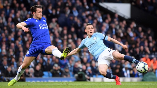 YOUNG GUN: Foden hunts for his second Premier League goal after netting his first against Tottenham.