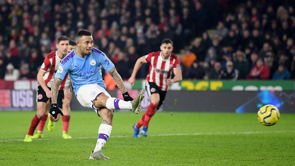 SAVED: Gabriel Jesus misses a golden chance from the spot
