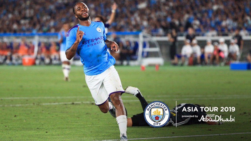 CALM AS YOU LIKE: Sterling restores City's lead