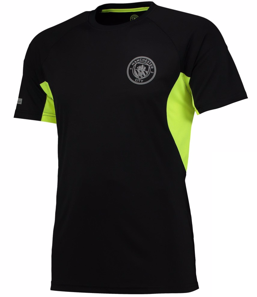 SHARP: Cheer on City with this Sport Poly T-Shirt which features a reflective printed crest for a loyal look. Built with 100% polyester, you can enjoy complete comfort when you wear this tee.