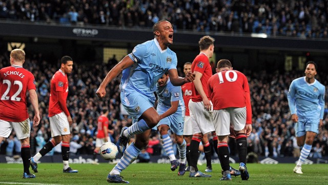 CAPTAIN FANTASTIC:  VIncent Kompany's unforgettable 2012 winner