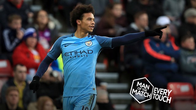 TOUCH OF CLASS: Sane on fire.