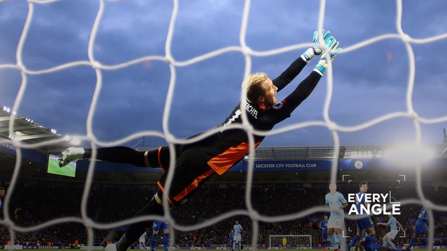 EVERY TOUCH: Kevin De Bruyne pings it top bins against Leicester