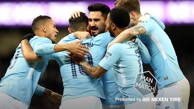 SILKY: Ilkay Gundogan delivered a passing masterclass in the win over Burnley