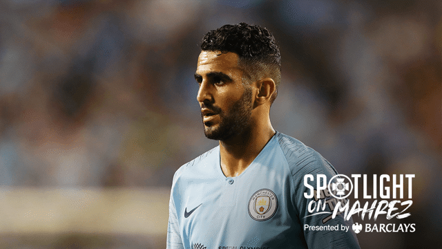 SPOTLIGHT ON: Riyad Mahrez made his City debut in the International Champions Cup clash against Borussia Dortmund...