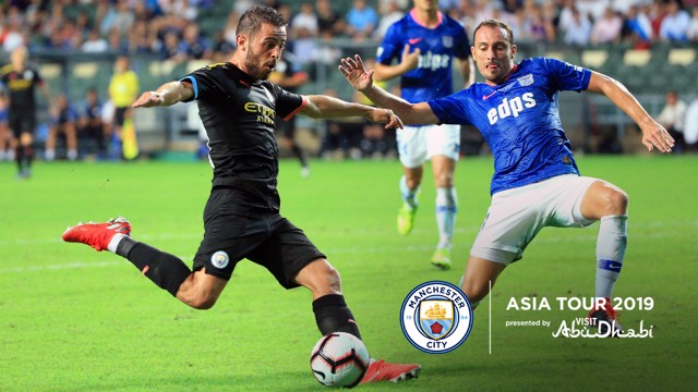 SILVA SERVICE: Bernardo Silva in action against Kitchee