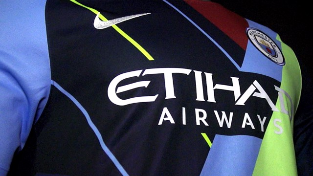 MASHUP: Nike have released a shirt commemorating six years working with Manchester City